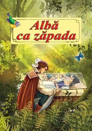 Alba ca zapada-Poveste ilustrata