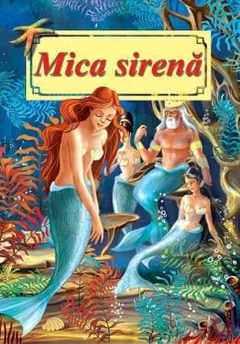Mica sirena-Poveste ilustrata