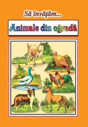 Sa invatam Animale din ograda Planse