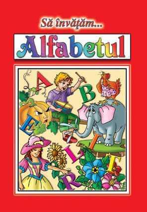 Sa invatam alfabetul Planse