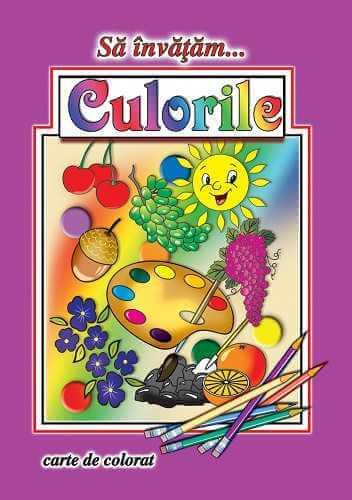 Sa invatam culorile-Carte de colorat