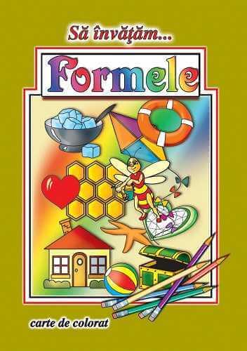 Sa invatam formele-Carte de colorat