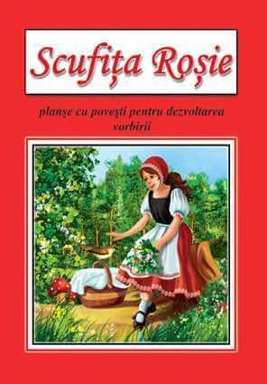 Scufita Rosie Planse cu povesti