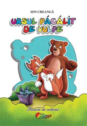 ursul-pacalit-de-vulpe-carte-de-colorat