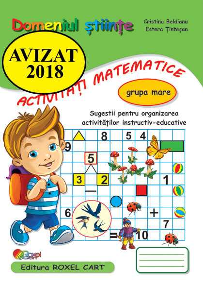Domeniul activitati matematice-grupa mare