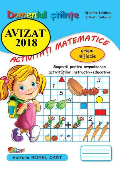 Domeniul activitati matematice-grupa mijlocie